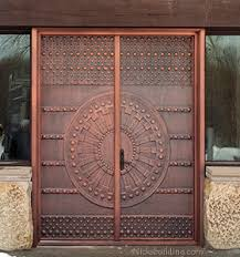 front double doorsCopper Doors  Exterior Copper Doors