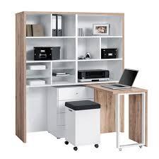hidden home office. Maja Mini Home Office 9566 Multi Workstation Hidden
