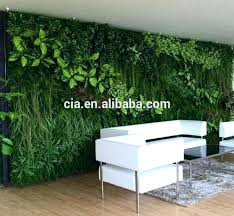 wall plants indoor synthetic vertical green wall artificial grass hanging plants indoor decor plant hangers architects