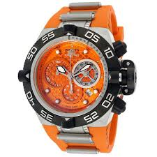 12 best images about mens watch leather black orange invicta subaqua nova iv men s watch from beyond the