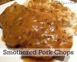 Southern Style Smothered Pork Chops With Buttermilk Gravy Dee Dees Country Style Smothered Pork Chops