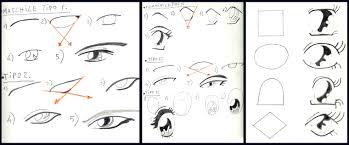 Come Disegnare Occhi Manga Blog Takano Con Disegni A Matita Facili