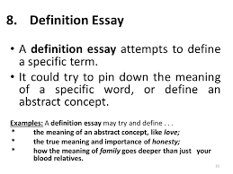 i am anila nosheen from comsats institute of information  definition essay 2 definition essay