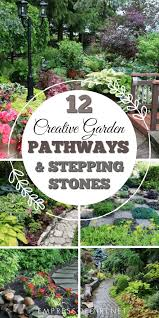 here s a bunch of creative ideas for designing garden paths and walkways plus diy stepping stone