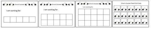 Token Chart Template Positively Autism Free Teaching Materials Behavior