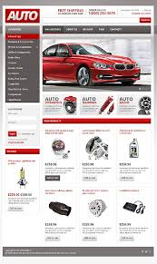 auto parts website template website templates auto parts shop car spares custom website