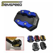 <b>SEMSPEED CNC</b> Motorcycle Foot <b>Side Stand</b> Extension Enlarge ...