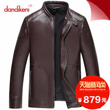 get ations new winter men s leather leather collar short paragraph slim leather sheep skin leather jackets men s jackets