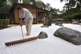 it s best to contain the sand with a low wall or short fence artists often tap into their muse while raking the sand zen garden sand