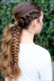 Viking Hairstyle Female the viking braid ponytail hairstyles for sports cute girls 8345 by wearticles.com
