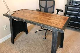 industrial style office desk. Industrial Corner Desk Office Style Home Throughout Executive S