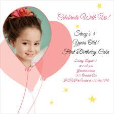 Free Printable Birthday Invitation Templates For Kids | Greetings ... Pink Balloons Party