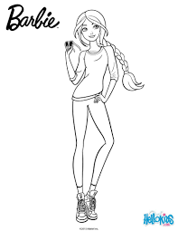 Small Picture Barbie casual chic coloring pages Hellokidscom