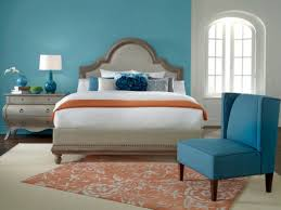 One Wall Color Bedroom Creative Palette Interiors House Painters Interior House