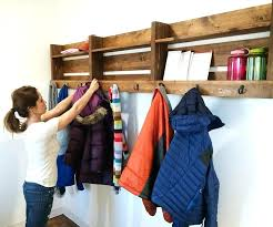 How To Mount A Coat Rack On The Wall Diy Coat Rack Wall How To Make A Wall Mounted Coat Rack Wall Mounted 42