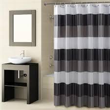 fairfax black shower curtain