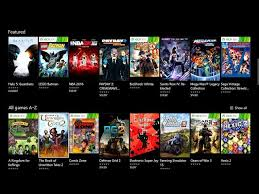 Top Ten Xbox 360 Games Chart Xbox Game Pass Goes Live Lets You Play Over 100 Xbox Games