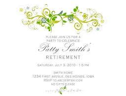 Microsoft Word Retirement Party Invitation Template Anekanta Info