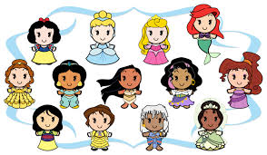 Disney is one of the most loved brands in the world, so let your child enjoy it more through these coloring pages. Kawaii Disney Cuties Coloring Pages Coloring And Drawing