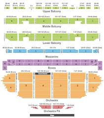 Fox Theater Seating Chart Gallery Of Chart 2019