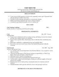 Cook Resume Objective Project Management Sample Resume Objectives Business Development 38