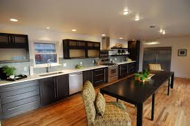 Long Kitchen Design Home Interior Decorating Ideas