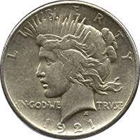 1921 Peace Dollar Value Cointrackers