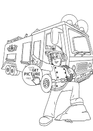 Small Picture Firetruck coloring pages for kids printable free coloing 4kidscom