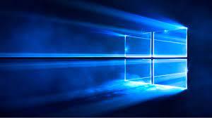 Windows 10 Wallpaper Aus Licht wird ...