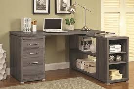 cool gray office furniture. Super Cool Gray Corner Desk Brilliant Design Office Simple Yet Elegant Furniture O