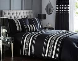 duvet cover sets matching curtains bed runners cushions silver sequin