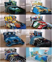 garage boys character comforter kids bedroom bed cover lego city disney bedding set children sheet marvel