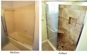 shower diy before and after bathroom renovation ideas