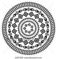 Arabesque Pattern Best Clipart Of Oriental Arabesque Pattern Round K48 Search Clip