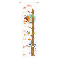 Vervaco Cross Stitch Charts Vervaco Counted Cross Stitch Kit Height Chart Animals In Tree