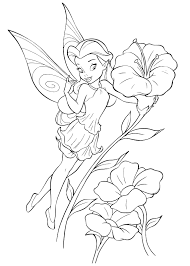 Download Disney Fairies Coloring Pages Armeniephotoscom