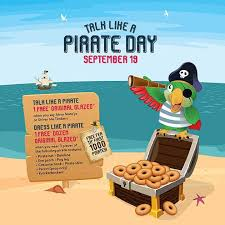 Free Krispy Kremes for Talk Like a Pirate Day | 19 Sep 2018 - What's ...
