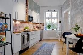 Apartment Kitchens Kitchen Room Delectable Home Small Kitchen White Interior Scheme