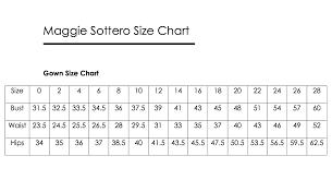 Maggie Sottero Wedding Dress Size Chart Wedding