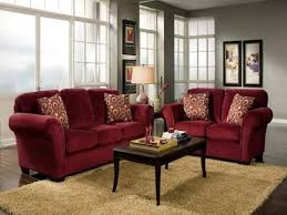 home decor ideas red couch you