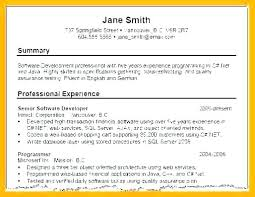 Example Of A Profile For A Resumes Sample Profile For Resume Example Personal Statement Customer