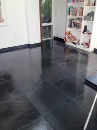 Changing the Colour of Grout on a Slate Tiled floor | Grout Protection