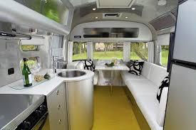 Airstream Interior Design Unique Decorating Design