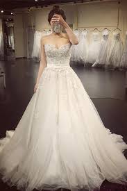 a line lace crystal a line wedding dresses 2017 luxurious long