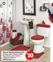black and red bathroom accessories. Black White Red Bathroom Awesome And Decor Accessories A
