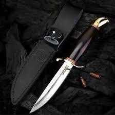 Russian Finka <b>NKVD KGB Fixed Blade</b> Knife Handmade Combat ...