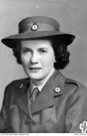 12 June 1944. Portrait of Mrs Hilda Norris (nee Ludlow), Australian Red  Cross Society. She was ...   Australian War Memorial