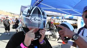 2011 Arai Signet Q Motorcycle Helmet Fitting Because Size Definitely Does Matter