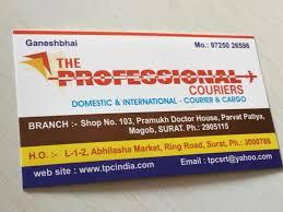 The Professional Couriers Parvat Patia Courier Services