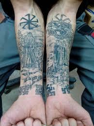 красивые славянские татуировки фотогалерея татуировки в славянском